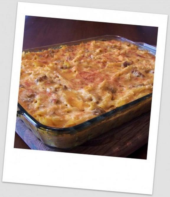 Pumpkin Ricotta Italian Pasta Bake recipe photo
