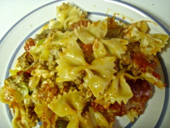 Ziti with Italian Sausage recipe photo
