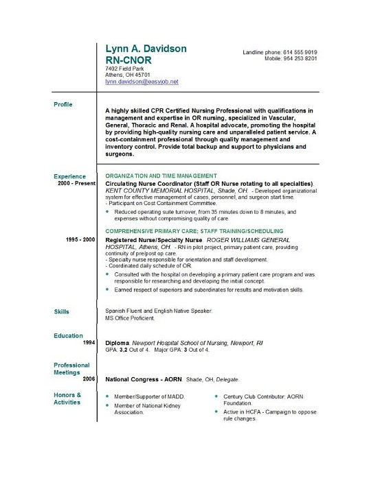 sample nursing resumes objectives nursing resume tips and samples to nuture your career highlights post sample