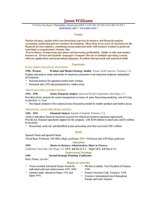 Sample Resume Objective Statements. Sample General Resume ...