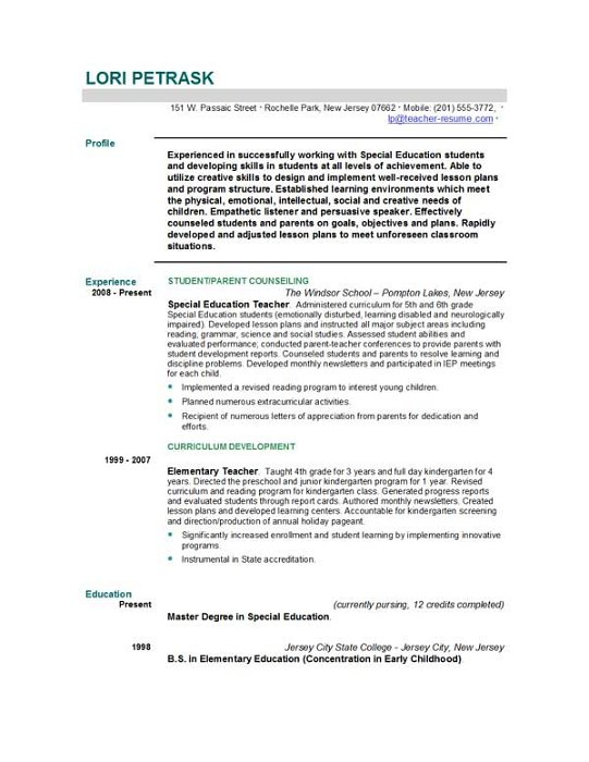 Resume For Someone With No Experience  the perfect resume for