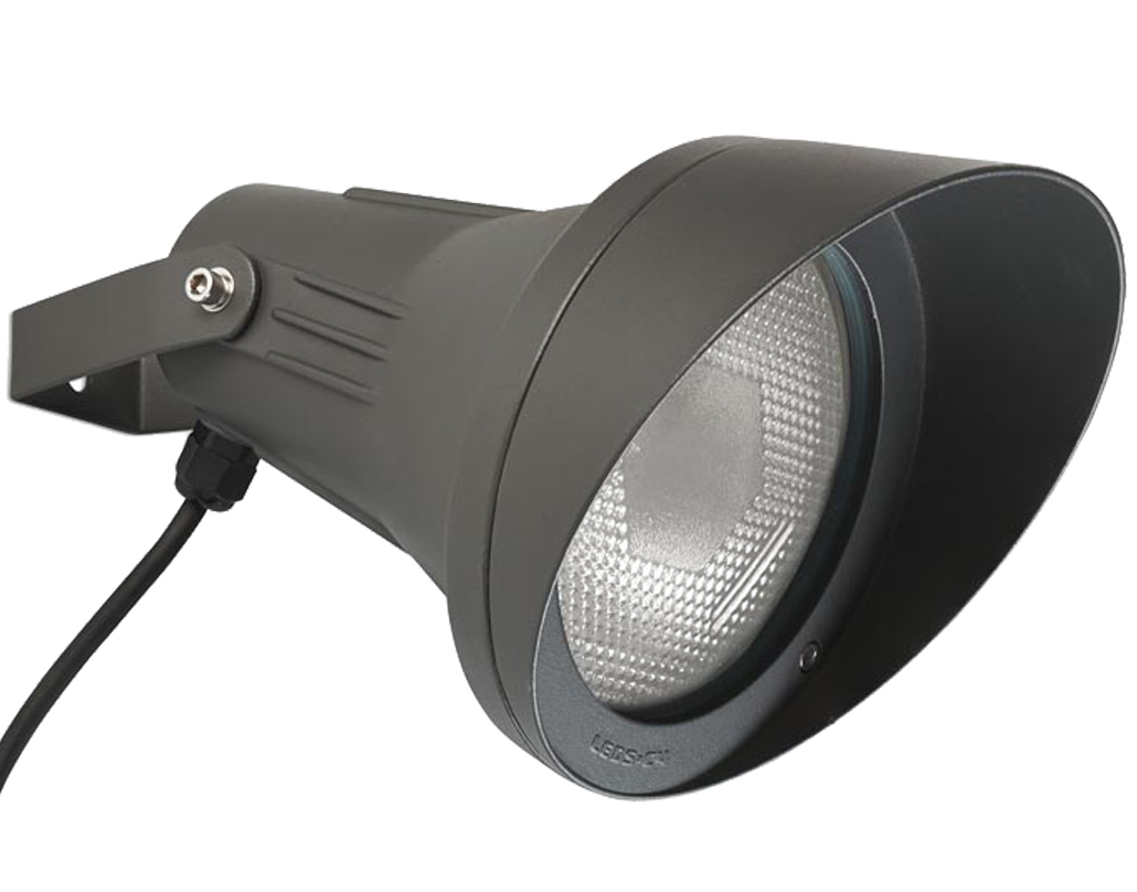 Ilja Led Built In Spotlight Adjustable Leds C4 39esparta 39 Ip65 Adjustable Outdoor Spotlight Grey