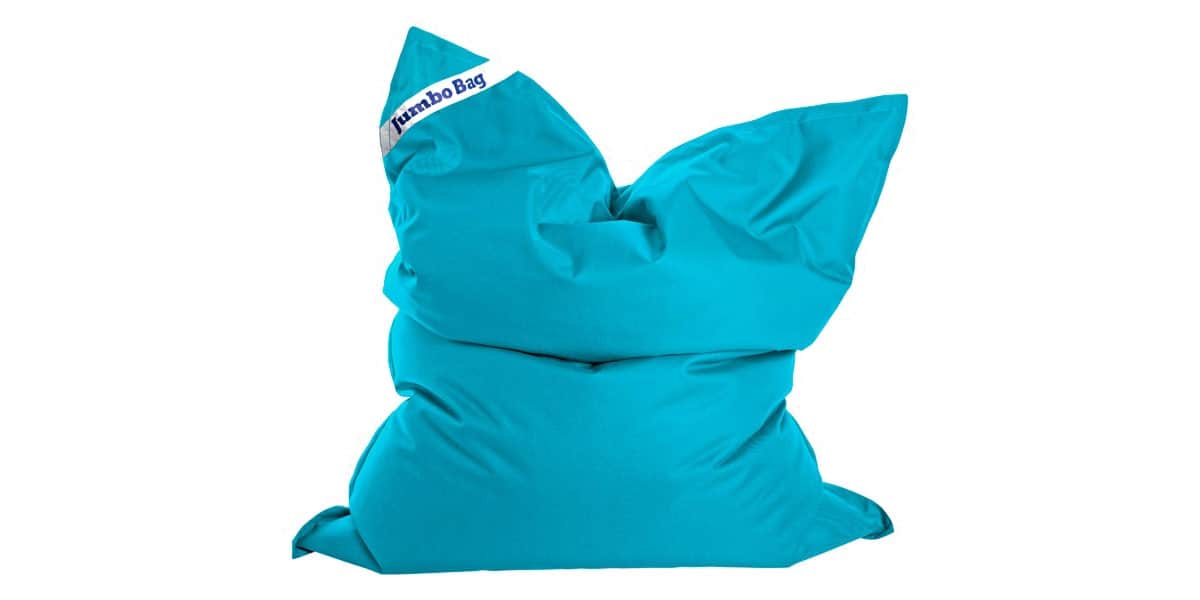 Pouf Geant Interieur Exterieur Jumbo Bag The Original Bleu Pétrole | Easylounge