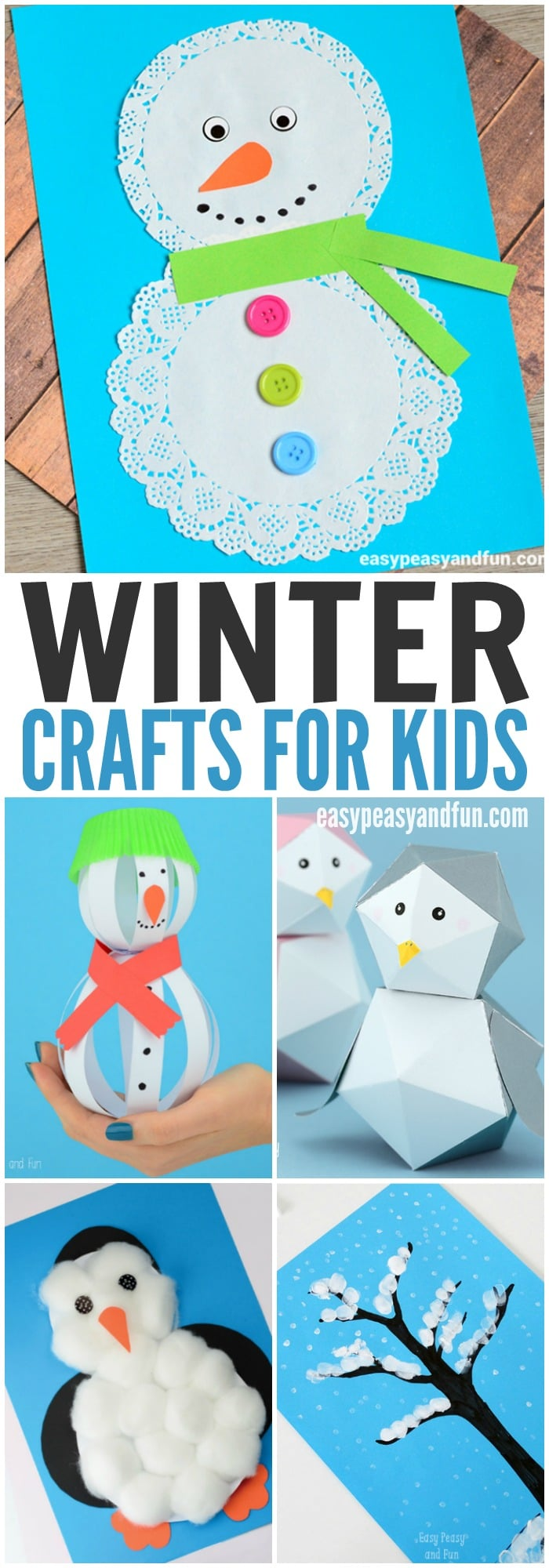 Art Craft Ideas Winter Crafts For Kids To Make Fun Art And Craft Ideas For All