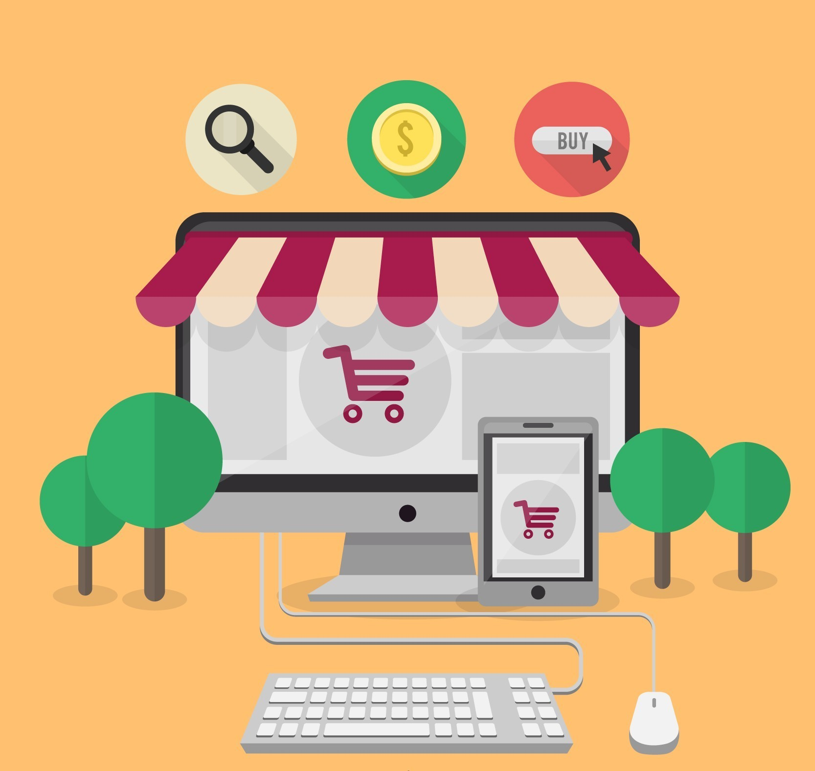 Online Decor Shopping How To Attract Local Customers To Your Online Shop