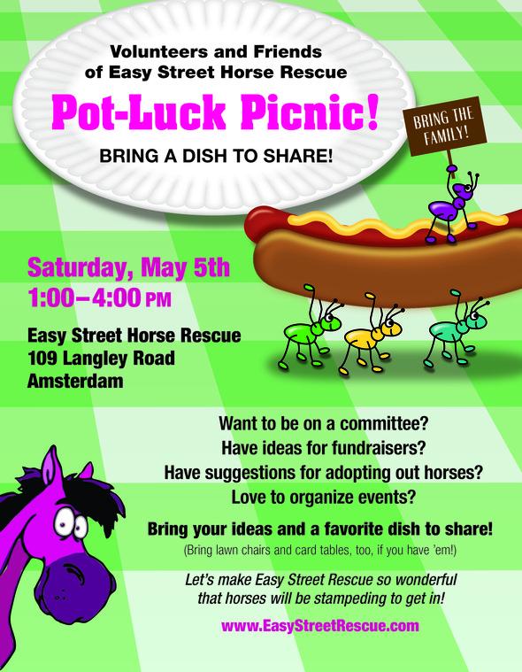 company picnic flyer template free
