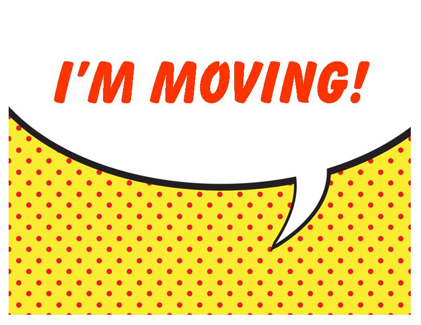 Free Printable Moving Announcement Change of Address Card \u2013 Premier - free change of address