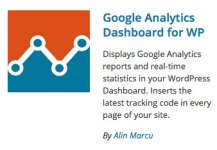Google Analytics Dashboard for WP plugin