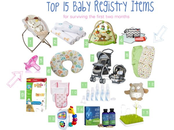 Top 15 Baby Registry Items (plus other Baby Essentials) - Eat Drink