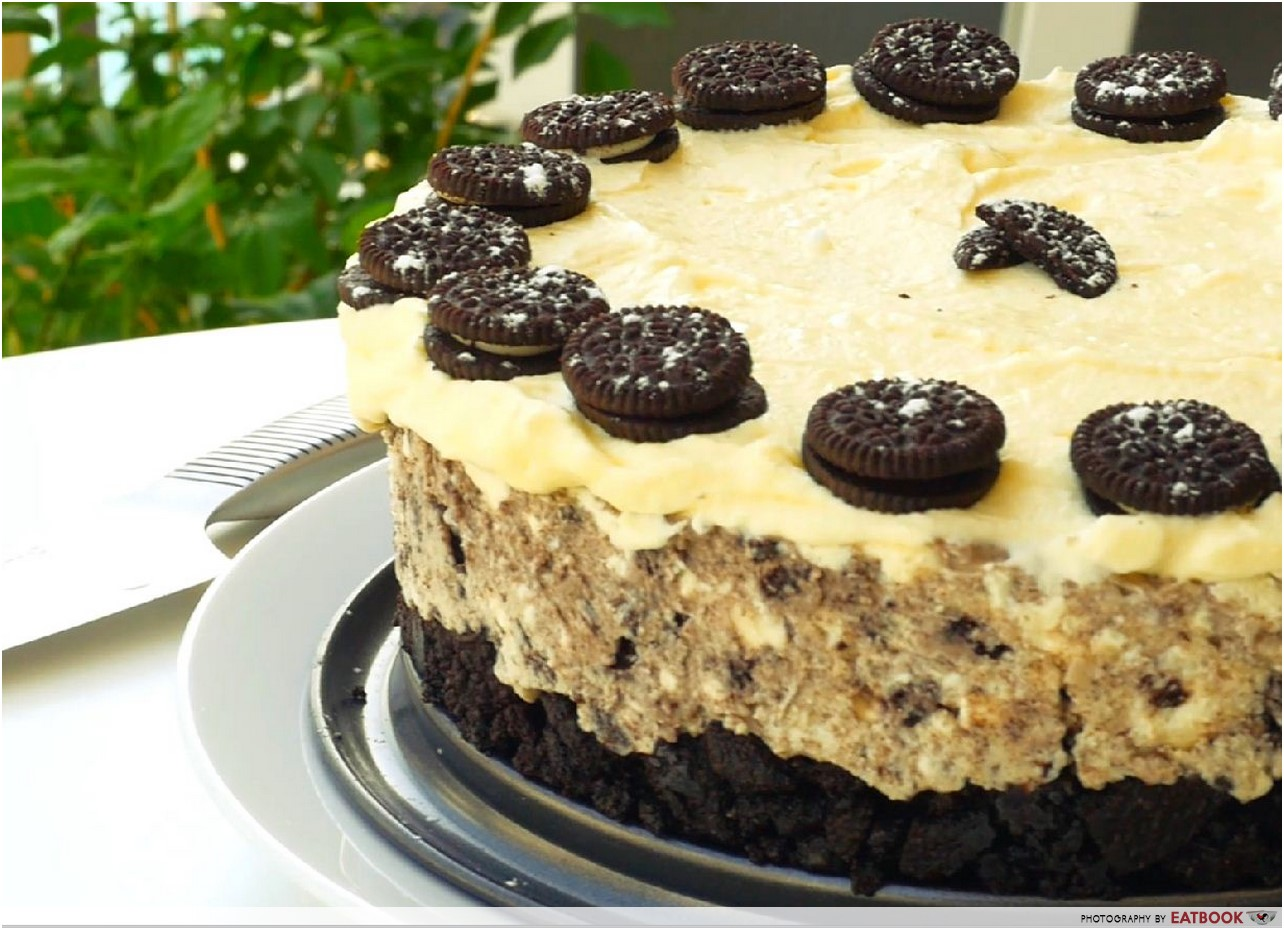 No Bake Oreo Kuchen No Bake Oreo Cheesecake Recipe 6 Ingredients And No Mixer Needed