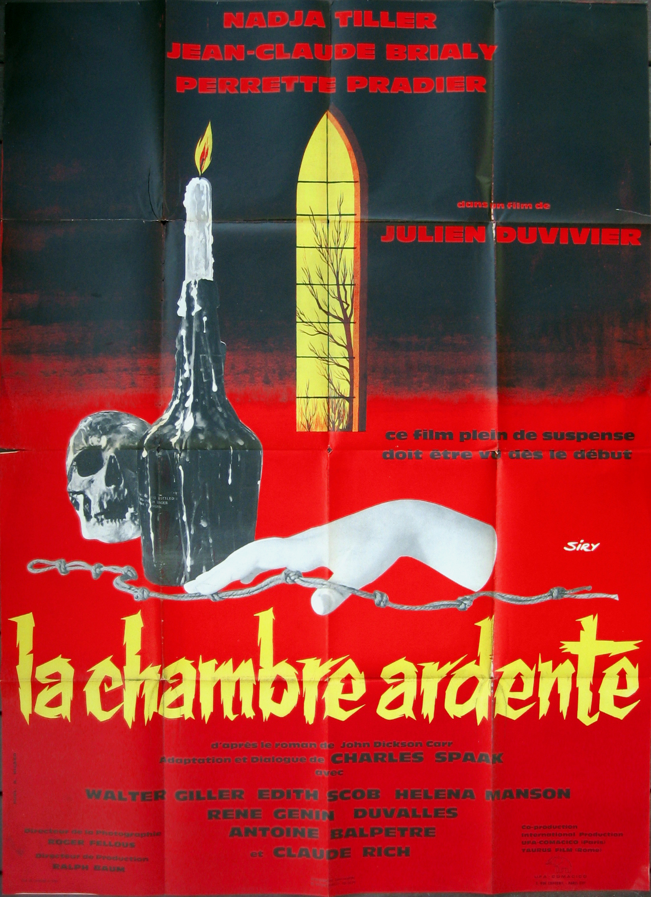 La Chambre Ardente Film N Movie Posters
