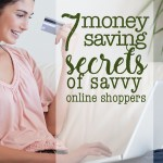 7 tips to save money shopping online