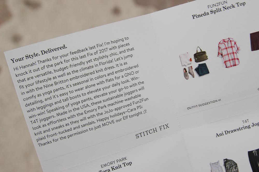 stitch fix notes