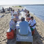 Dinner table on a sandbar 2