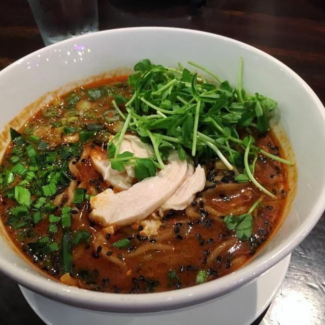 dandan at Benitora sawtelle LAX food noodles