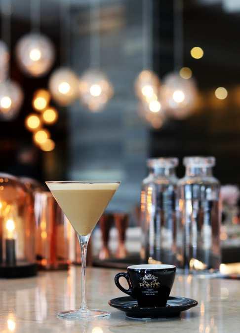 Caffeine Meets Booze in Goldfinch Tavern's Fonte Coffee Espresso Martini