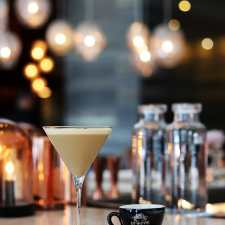Caffeine Meets Booze in Goldfinch Tavern's Fonte Coffee Espresso Martini