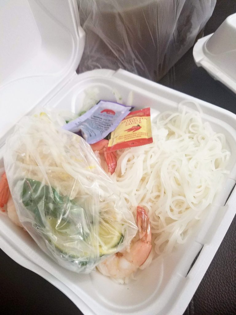 Pho Delivery Aviva Mediterranean Ubereats And 48 Hours Of Rest Eat Eat Read