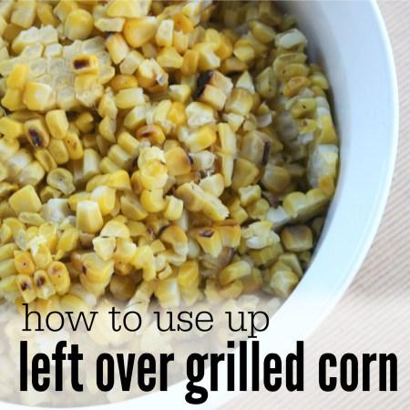 Leftover Grilled Corn