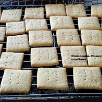 cinnamon-honey Graham crackers (whole wheat)