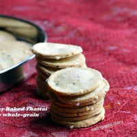 Crunchy Thattai with a Twist- A Savory Snack for Diabetes Friendly Thursdays (gluten-free, vegan)