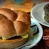 Grilled Black Bean Veggie Patties
