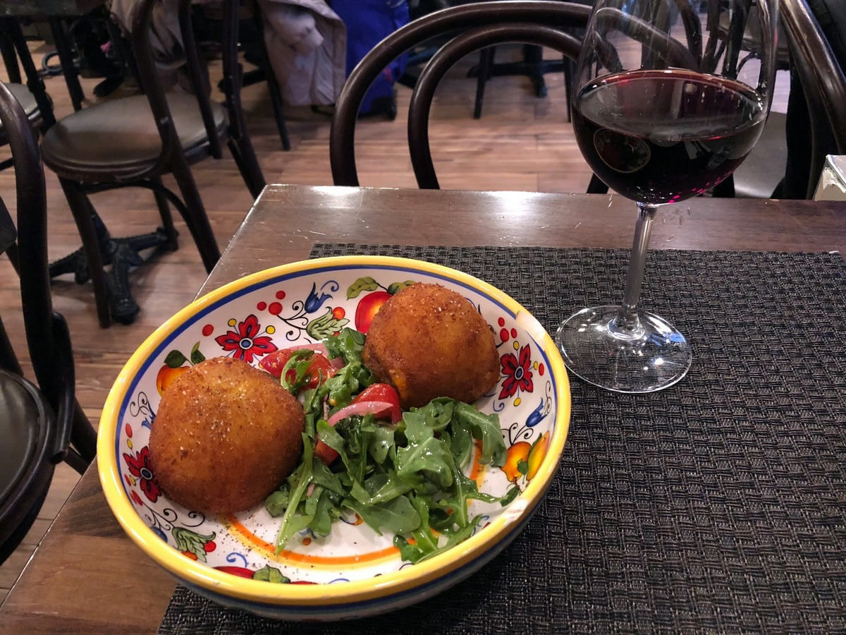 Cucina Piccola Soho Arancini At Piccola Cucina Osteria Siciliana Eating With Ziggy