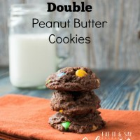 Double Chocolate, Double Peanut Butter Cookies