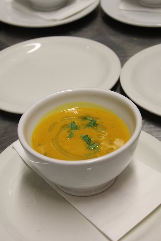 Spiced Pumpkin Soup (Recipe from Comfort & Spice)