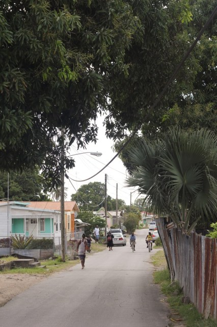 Local neighbourhood where I went to cook in Barbados