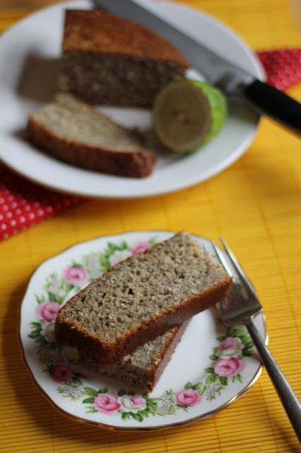 Banana, Coconut & Lime Bread