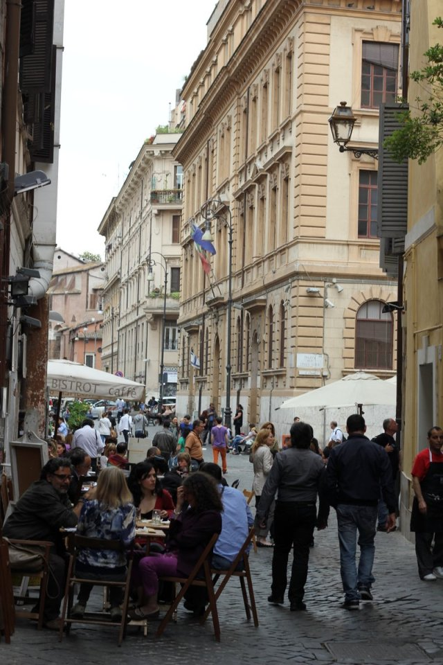 The Jewish Ghetto in Rome