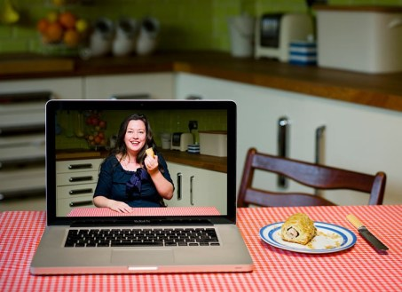 Picture taken by Pål Hansen for the Observer Food Monthly when I won the OFM Best Blogger Award in 2011