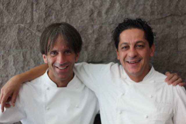 Davide Oldani & Francesco Mazzei at L'Anima in London
