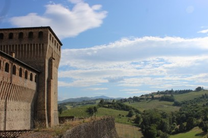 Torrechiara castle - built in the 15th century