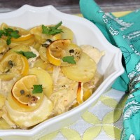 Lemon Chicken Potato Casserole Recipe