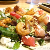 Applebee's Grilled Watermelon & Spicy Shrimp Salad Review + More #Woodfired