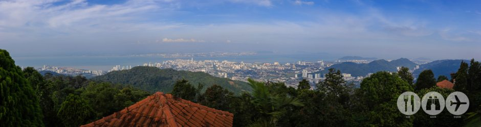 Panorama taken from Penang Hill, overlooking Georgetown and surrounds