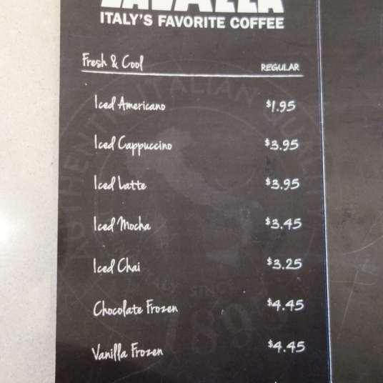 coffee menu 2