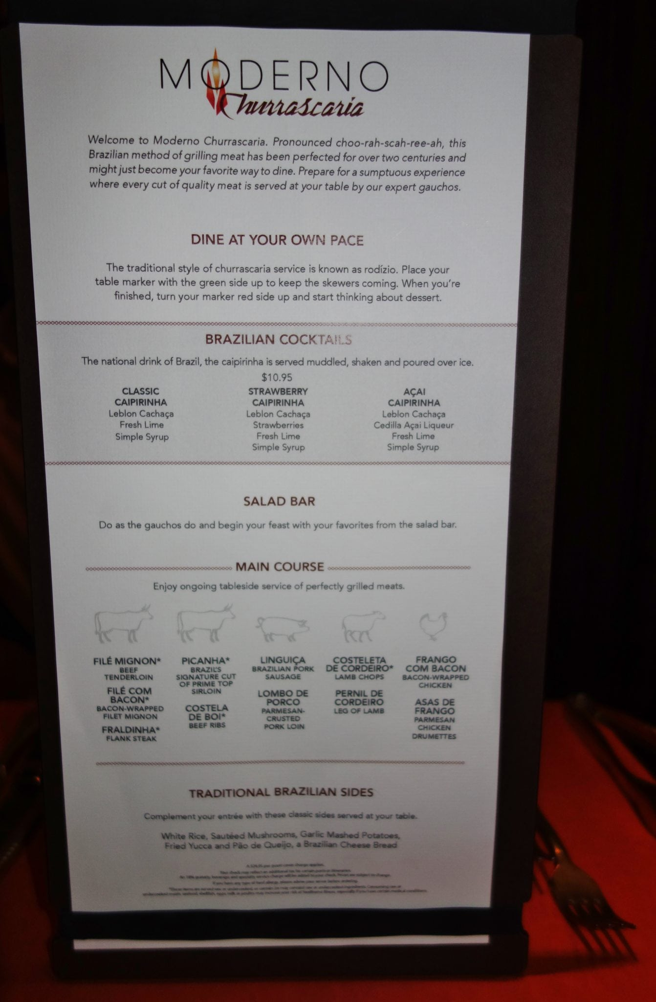 La Cucina Menu Ncl Bliss Norwegian Escape Menus Eatsleepcruise