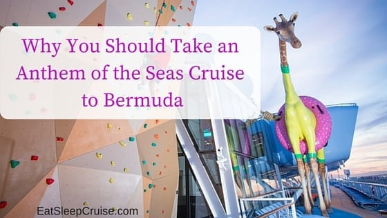 Why You Should Take an Anthem of the Seas Bermuda Cruise