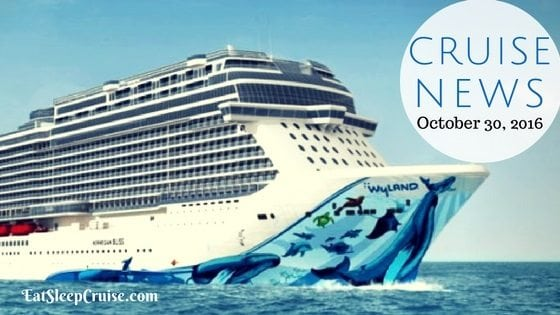 Cruise News October 30, 2016