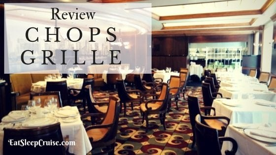 Chops Grille Oasis Of The Seas Top Pick For Specialty Restaurant