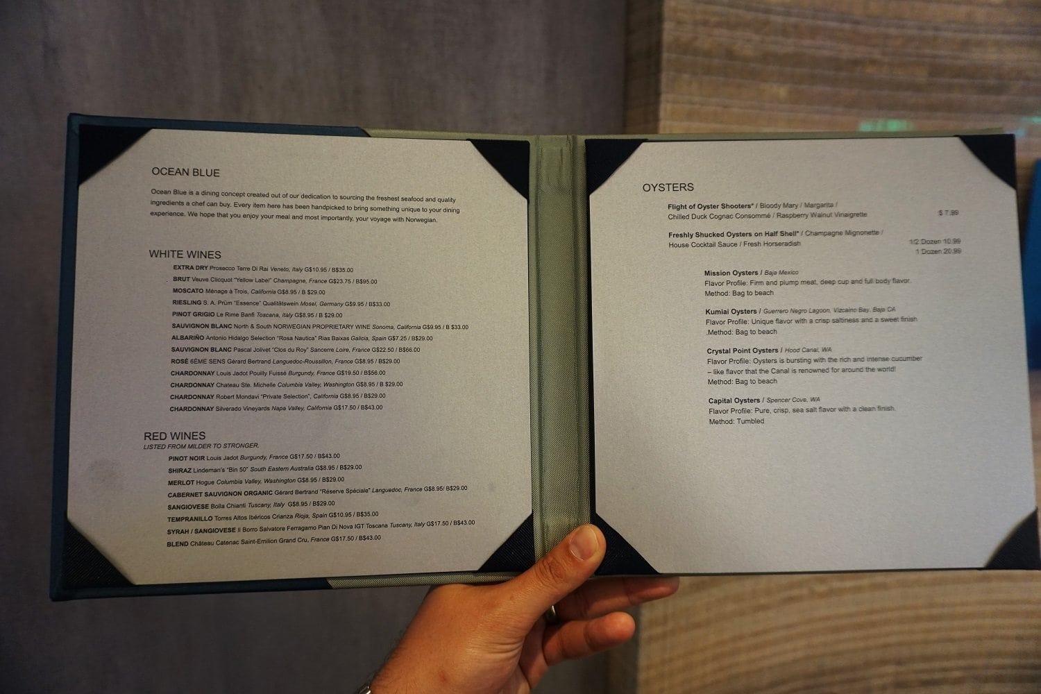 La Cucina Menu Ncl Bliss Norwegian Bliss Restaurant Menus And Guide