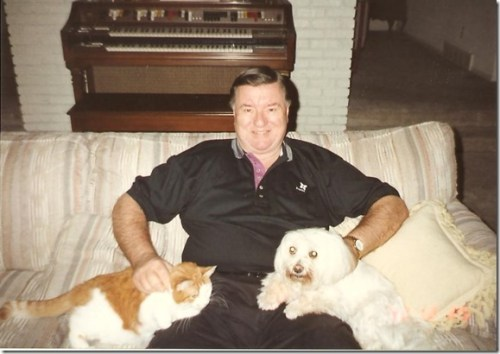 Dad, Snowball, Kelsey 2