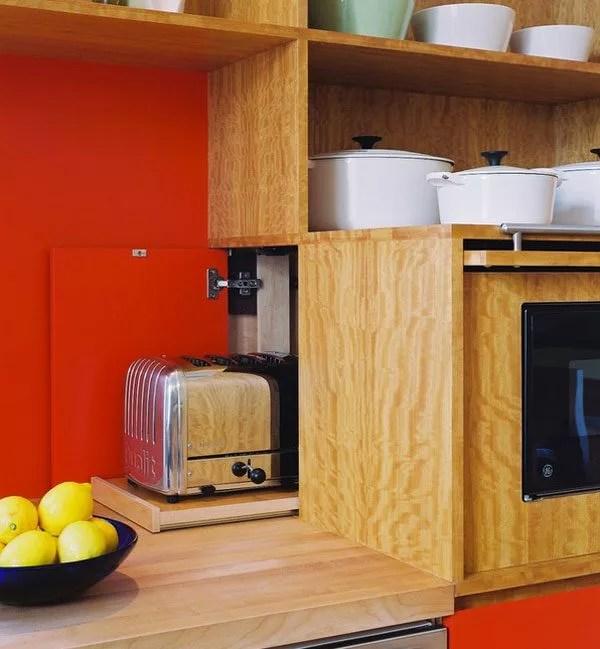 bulky appliances microwave coffee maker cabinet diy clever storage ideas bathroom organization creative