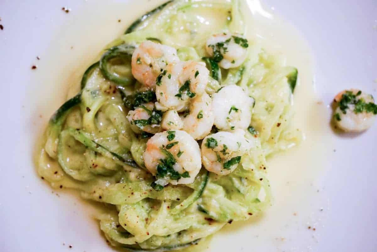 Fettuccini Alfredo ala cukes and cauli