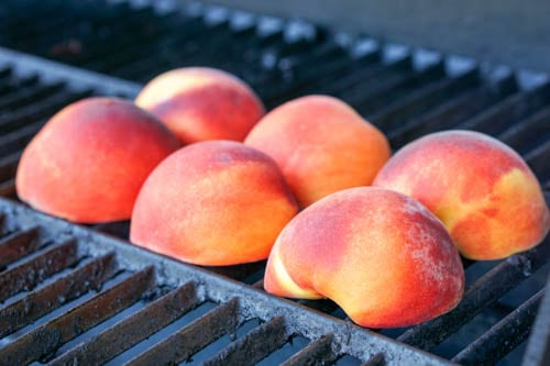 Grilling Peaches: a quick and healthy dessert perfect for summer Bar-B-Ques!