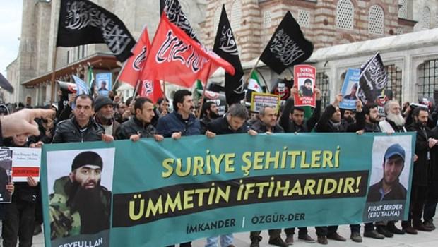 A pro-jihad rally in Istanbul glorifies Sayfullakh