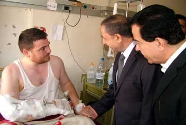 MINISTER LATAKIA INJURED